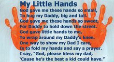 An easy craft with a poem for Dad.    #Fathers Day #crafts #kids #Dad #Gifts #poem