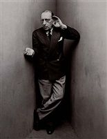 Igor Stravinsky, NY, April 22 1948 by Irving Penn