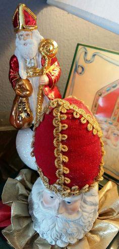 Sinterklaas piek-ornament