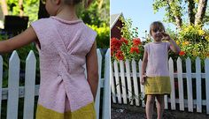 Dress with a twist by pickles.no