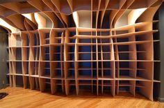 What a delightfully strange shelf.....