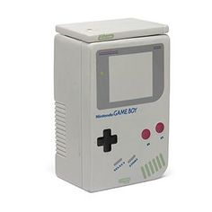 The Game Boy Coffee Canister lets us indulge in BOTH of our favorite addictions: coffee and retro gaming. This ceramic shrine to our childhood will hold up to 2 liters and can also be used as a cookie jar.