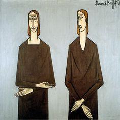 Bernard Buffet, Deux femmes - 1950