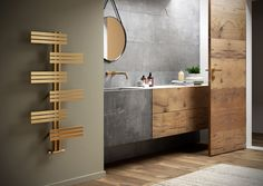 Search all products, brands and retailers of Decorative radiators: discover prices, catalogues and new features Ideal Bathrooms, Chic Bathrooms, Small Bathroom, Decorative Radiators, Bathroom Towel Rails, Bathroom Radiators, Internal Design, Design Apartment, Dark Interiors