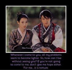 #moon lovers #kdrama #korean drama quotes #iu #scarlet heart ryeo