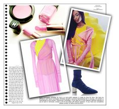 """Pink & Marigold"" by fl4u ❤ liked on Polyvore featuring Emilio Pucci, Whiteley, Pink and colorchallenge"