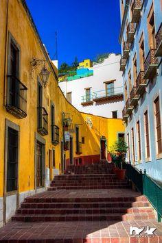 Guanajuato. ATRACTIVA H BELLA CALLÉ.