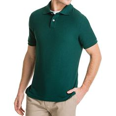 Lee Men's Short Sleeve Polo (Classic Fit)
