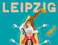 Leipzig Postcard