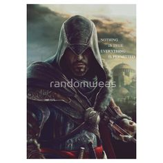 Ezio Auditore Assassin's Creed Revelations - Redbubble T-shirt