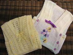 (6) Name: 'Knitting : Eden Childs Vest top knitting Pattern