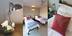 Bedrooms beautifully painted in Midas Envirolite Midafelt 225 - MOOI RIVER.