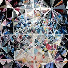 Geometric Art Color #geometric #geometry #nature #triangles #design