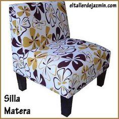 Sillas tapizadas en pinterest silla de patchwork for Sillas tapizadas estampadas