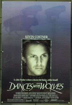 MovieArt Original Film Posters - DANCES WITH WOLVES (1990) 19464, $300.00 (http://www.movieart.com/dances-with-wolves-1990-19464/)