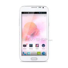 BLUEBO N7100 MTK6589 1.2GHz Quad-Core-Android 4.1 5,5-Zoll-qHD-Level-Multi-Touch-kapazitiven Bildschirm Dual-SIM-Dual-Standby-Dual-Kamera Dual UMTS/3G