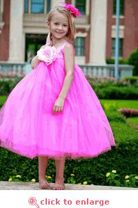 Sophia Hot Pink Tutu Dress - www.myfancyprincess.com