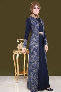 Sim Detay Tesettür Abiye Laci&Gold Tesettür Abiye Modelleri Sim Detay Tesettür Abiye Laci&Gold Tesettür Abiye Modelleri 2020 – Tesettür- H Batik Fashion, Abaya Fashion, Women's Fashion Dresses, Hijab Evening Dress, Hijab Dress Party, Beige Maxi Dresses, Muslim Women Fashion, Simple Gowns, Hijab Fashionista