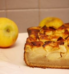Cake pommes chataignes sans gluten