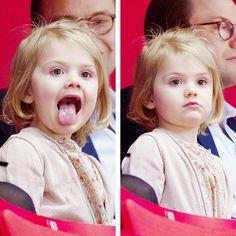 ladymollyparker:  Princess Estelle, January 28, 2015