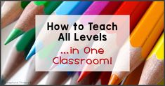Trying to accommodate different ability levels and individual student needs at the same time can seem overwhelming, but there are techniques that can make it more manageable. Here are a few tricks that helped me as an elementary special education teacher.