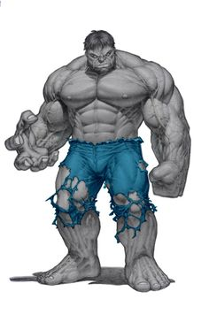 Grey Hulk by Dale Keown