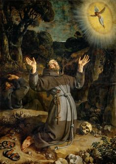 Frans Pourbus The Younger - Saint Francis Receiving the Stigmata