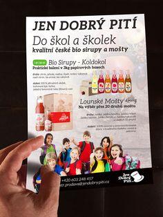 Nabídka pro školky a školy pro JenDobrýPití.cz