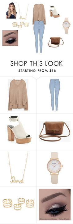 """""""Untitled #16"""" by bothasj on Polyvore featuring Zara, Topshop, Rebecca Minkoff and Sydney Evan"""