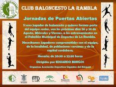 VIVE EL BASKET CON EDUARDO BURGOS: Jornadas de puertas abiertas del Club Baloncesto L...