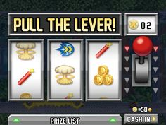 Pull the lever and win the #jackpot in slot games. #onlineslots