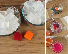 DIY Loofah Soap Steps