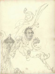 Austin Osman Spare, drawing 11 by Aeron Alfrey, via Flickr. Good example of one of AOS' automatic drawings. Spiritual Drawings, Austin Osman Spare, Automatic Drawing, English Artists, Occult, Dark Art, Magick, Artsy, Artwork