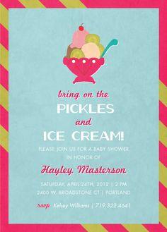 Pickles & Ice Cream by Wendy Van Ryn