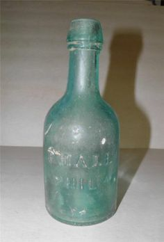 Civil War Soda Bottle Dug at Brandy Station P Hall Phil | eBay