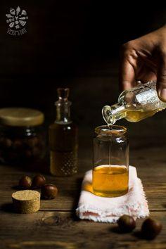 How to prepare homemade hazelnut syrup