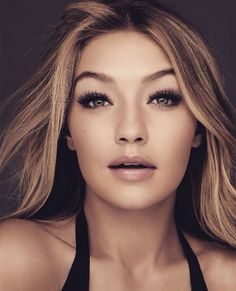 Gigi Hadid Maybelline   I just love this picture