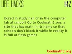 Life hack for kids #math