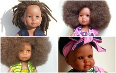 It's extremely important for young black girls to see reflective images of themselves when they are happy and enjoying themselves in free-time activities. It should be normal to see beautiful representations of black faces and black hair in order to know that it's not only normal, but good.