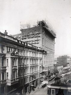RUSSIA, 1900S, MOSCOW TELEPHONE STATION