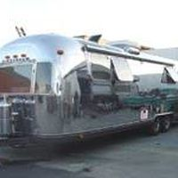 "The shape and silver color of lightweight Airstream trailers was inspired by aircraft design. The founder of Airstream, Wally Bryan, said his trailers ""cruised down the highway like a stream of air,"" hence the name. Restoring a trailer can be an expensive proposition but there are plenty of resources available because vintage Airstreams are so..."