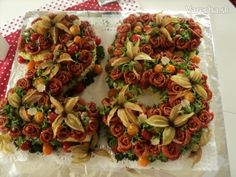 Slaná torta k 25 narodeninám pre vnuka (fotorecept)