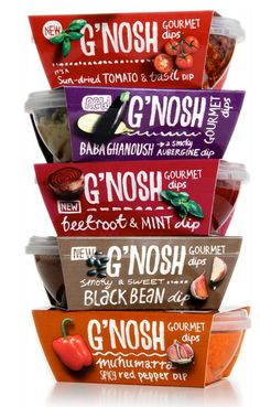 The name is cool, the package, so nu?! G'nosh Gourmet Dips (they have a really cool web site too)