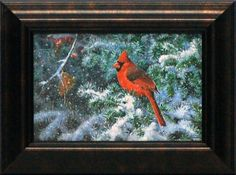 Berry Berry Red Framed Painting Print