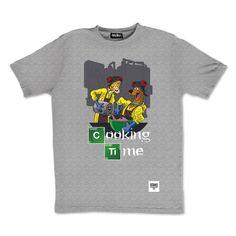 tee-shirt #Cooking Time by otaku Gamewear #breakingbad