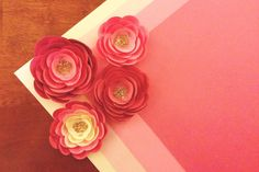 Rivers and Roads: DIY // paper flowers: part three