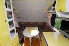 Image & Tour Fiberglass Camper, Bunk Beds, Tiny House, Tours, Cabinet, Storage, Furniture, Home Decor, Camping