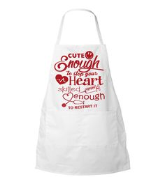 Cute Enough Apron