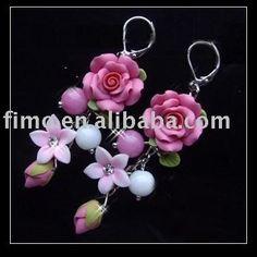 Polymer Clay Earrings: