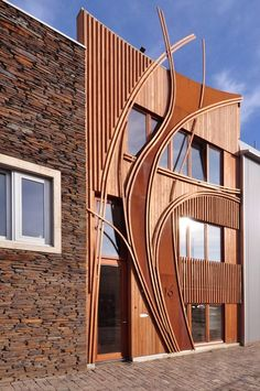 Abstract-facade-of-24H-Architectures-Leyden-Ecological-Urban-Houses-Netherlands
